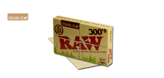 Raw 300s Organic Hemp 1 1/4 Rolling Papers