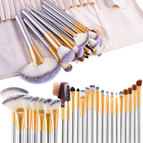 24pcs Premium Cosmetic Makeup Brush Set