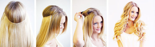 Invisible Halo Hair Extensions - 20
