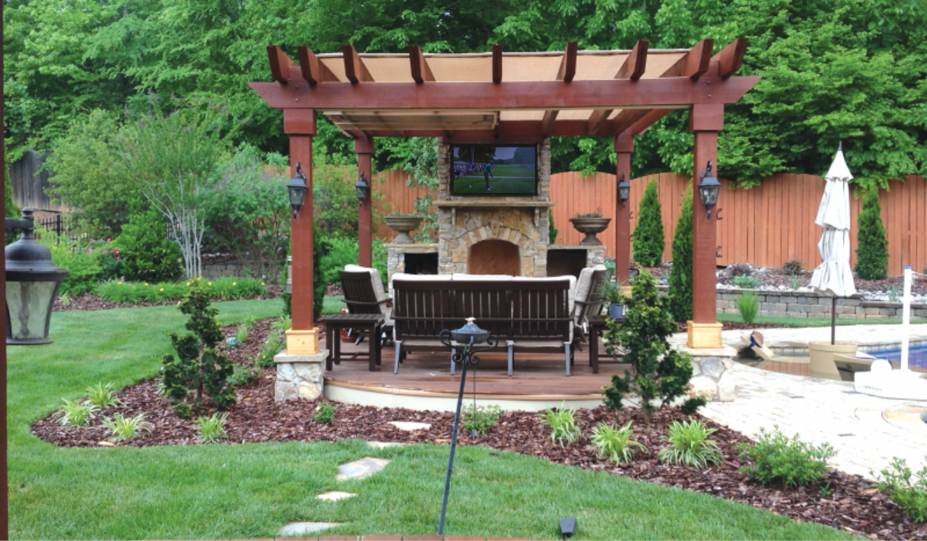 Bring your Indoor TV Outside by the pool- The Simple way to move your TV anywhere!