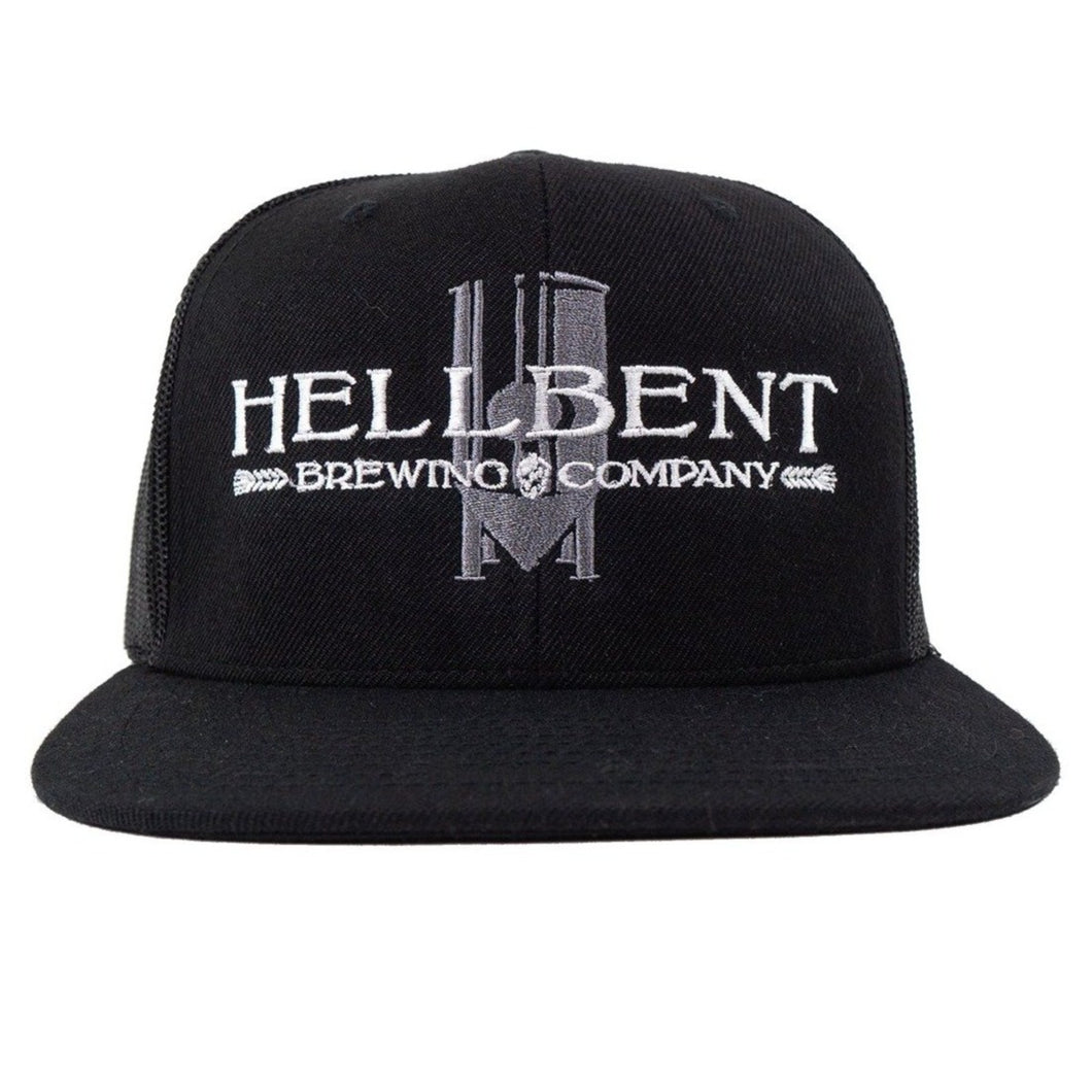 *NEW* Black Trucker Hat