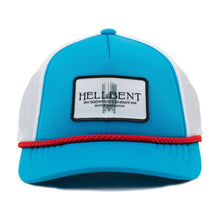 Blue and Red Trucker Hat