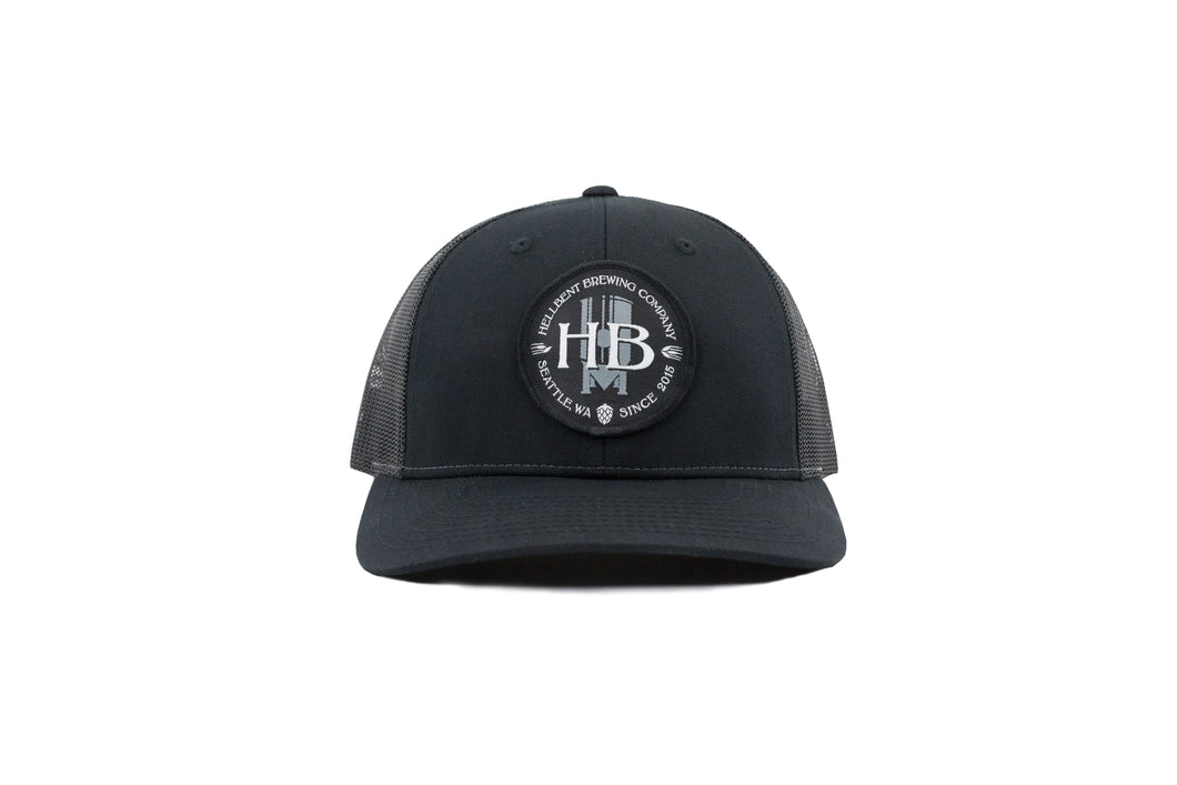 Dark Charcoal Trucker Hat