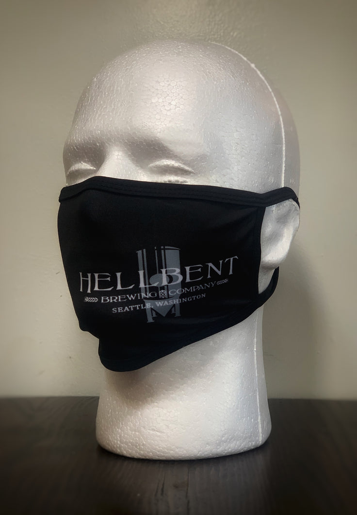 Two Masks with Hellbent Logo