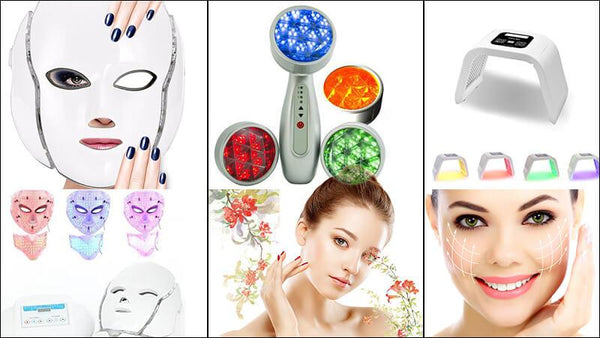 Top 3 Best LED Light Therapy Devices for your Skin 2019