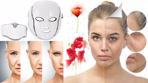 Best At Home Led Light Therapy Mask for Aging Skin | Handheld & Best Rated