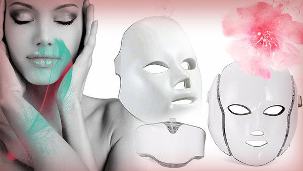 Achieve Younger Looking Skin At Home with the LED Photon Therapy Light Mask