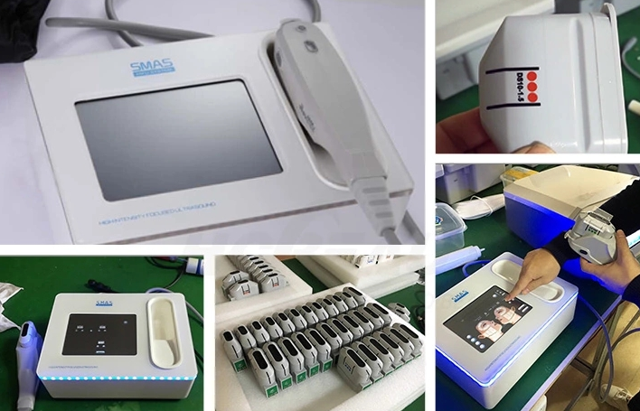 Professional Hifu Machine - Wrinkle Removal, Slimming, Facial Lifting System for Professional & At Home Use - 3 Cartridges