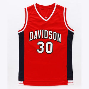 Stephen Curry College Jersey 30 Davidson Wildcat Basketball Jersey  Commemorative Sport Shirt All stitched 3c31a28c0