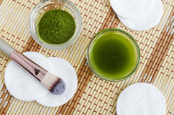 Benefits of Green Tea in Skincare by Ginjo Beauty