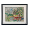 Colorful Island Life Pastel - Original