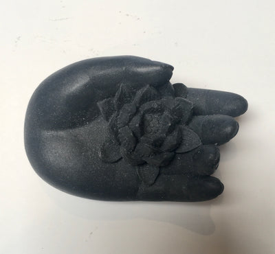 Hand with Lotus Soap