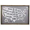 United States of America Pin Map