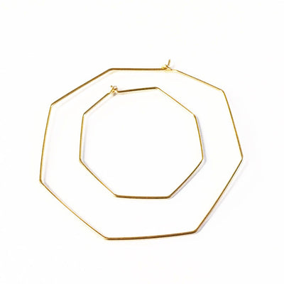 Nash Hoops - Gold Fill