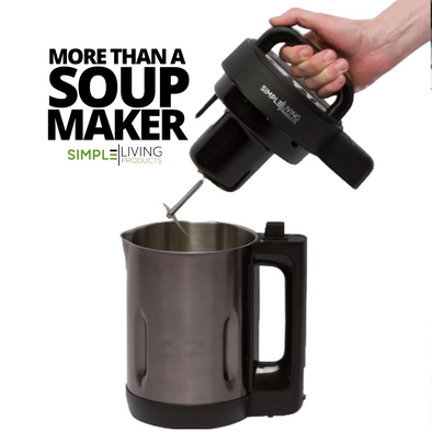 Everything You Need To Know About The Simple Living Products Soup Maker