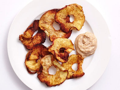 Air-Fried Cinnamon Apple Chips