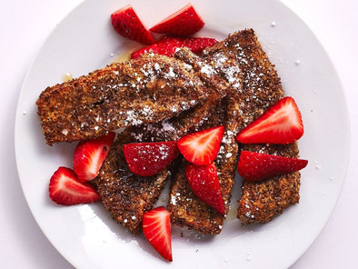 Air-Fried Flax Seed French Toast