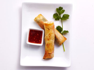 Air Fryer Shrimp Spring Rolls
