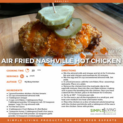 Air Fried Nashville Hot Chicken