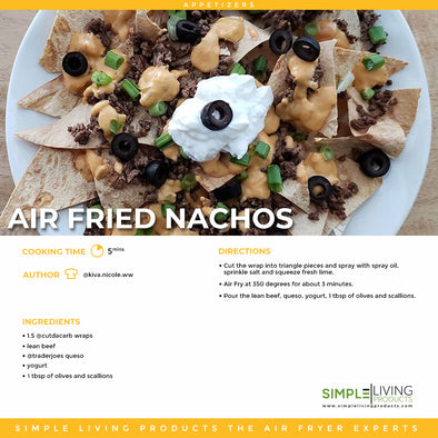 Air Fried Nachos