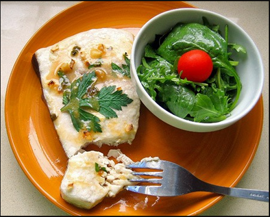 Baked Swordfish in a Convection Oven