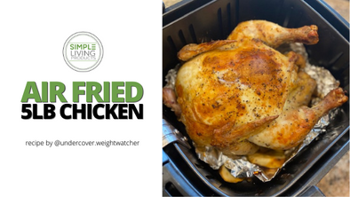 Christmas Recipe: Air Fried 5LB Chicken!