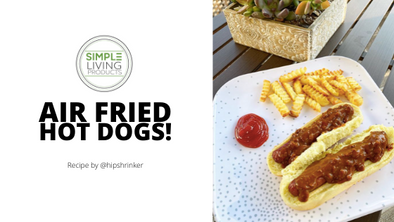 Perfect Hot Dogs Made in Your Air Fryer!