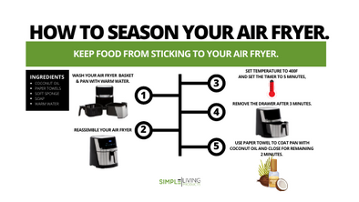 How to Season Your Air Fryer