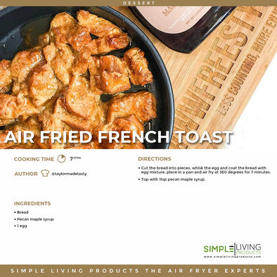 Air Fried French Toast