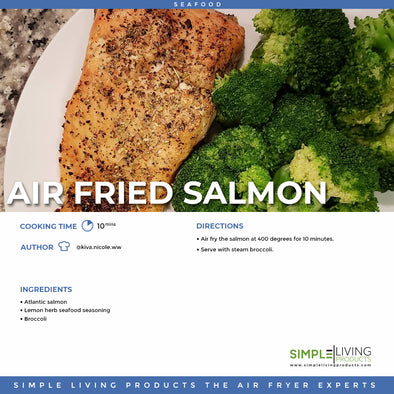 Air Fried Salmon