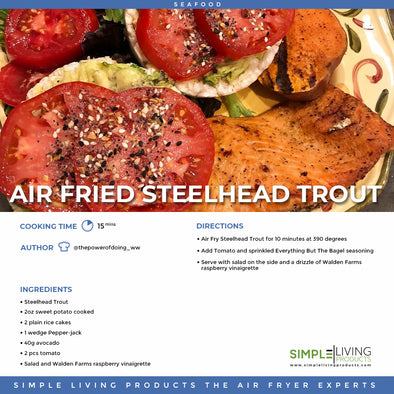Air Fried Steelhead Trout