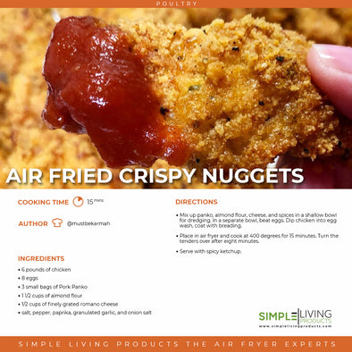 Air Fried Crispy Nuggets
