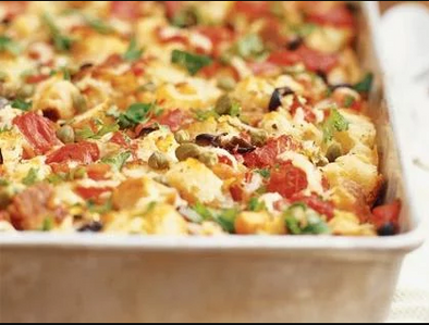 Sicilian Style Strata in Your Convection Oven
