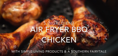 Air fryer BBQ Chicken Recipe