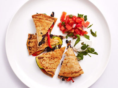 Veggie Quesadillas in an Air Fryer