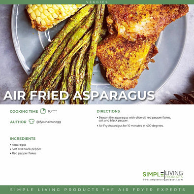 Air Fried Asparagus
