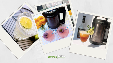 Simple Living Cocktails by The Cocktail Snob!