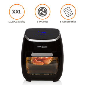 12Qt Digital Air Fryer Oven