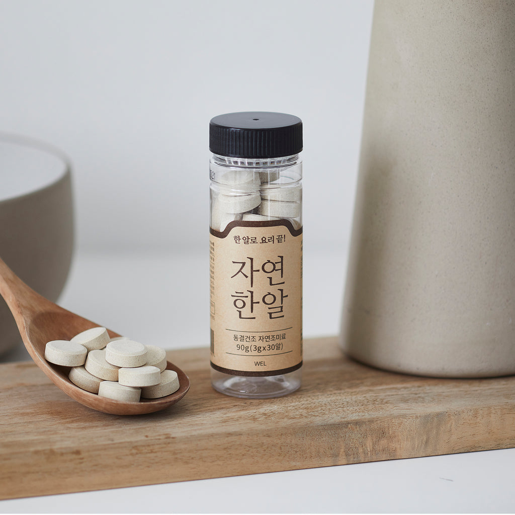 Trunas One Tablet Natural Seafood Stock 트루나스 천연조미료 자연한알