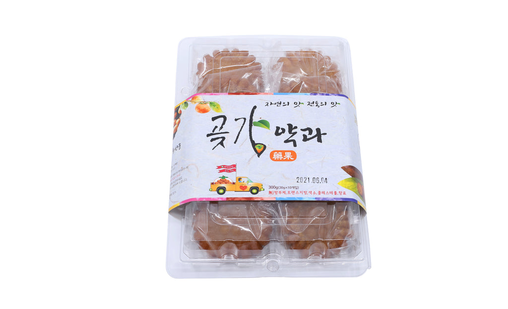 Persimmon Honey Cookie Yakgwa  상주곶감약과 (10개입)