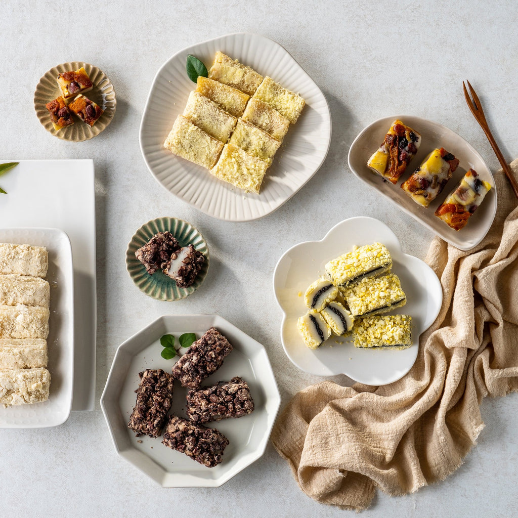 Changeok Rice Cake 창억떡 [Set 2] - Chaltteok Variety + Assorted Seolgi
