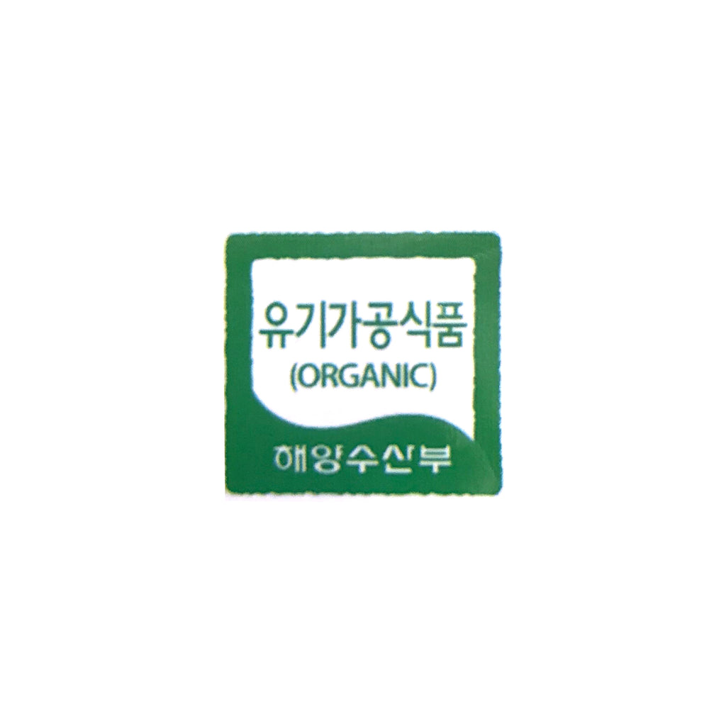 Manjun Gim Double Roasted Organic Seaweed for Gimbap 만전김 유기식품 두번구운 김밥용김