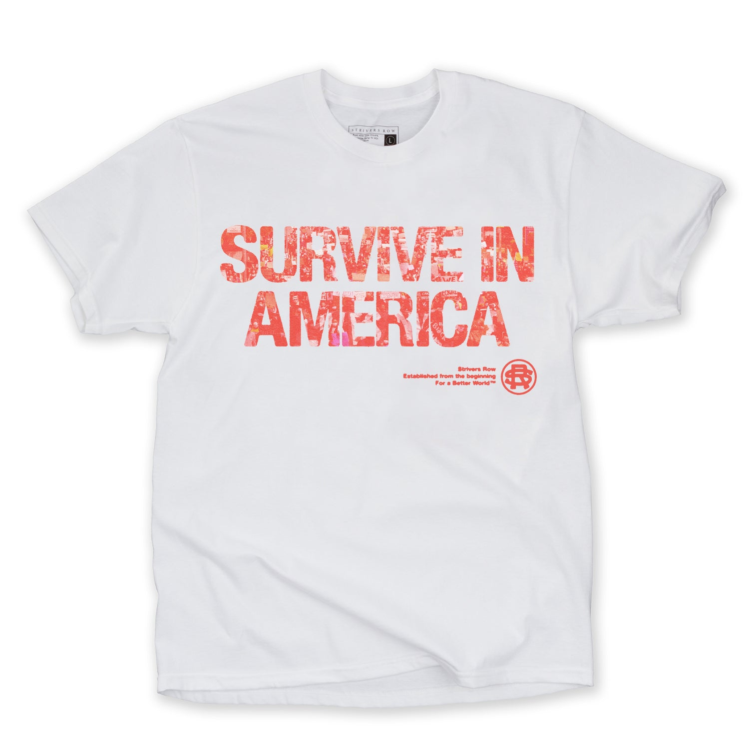 Survive SS Tee (White)