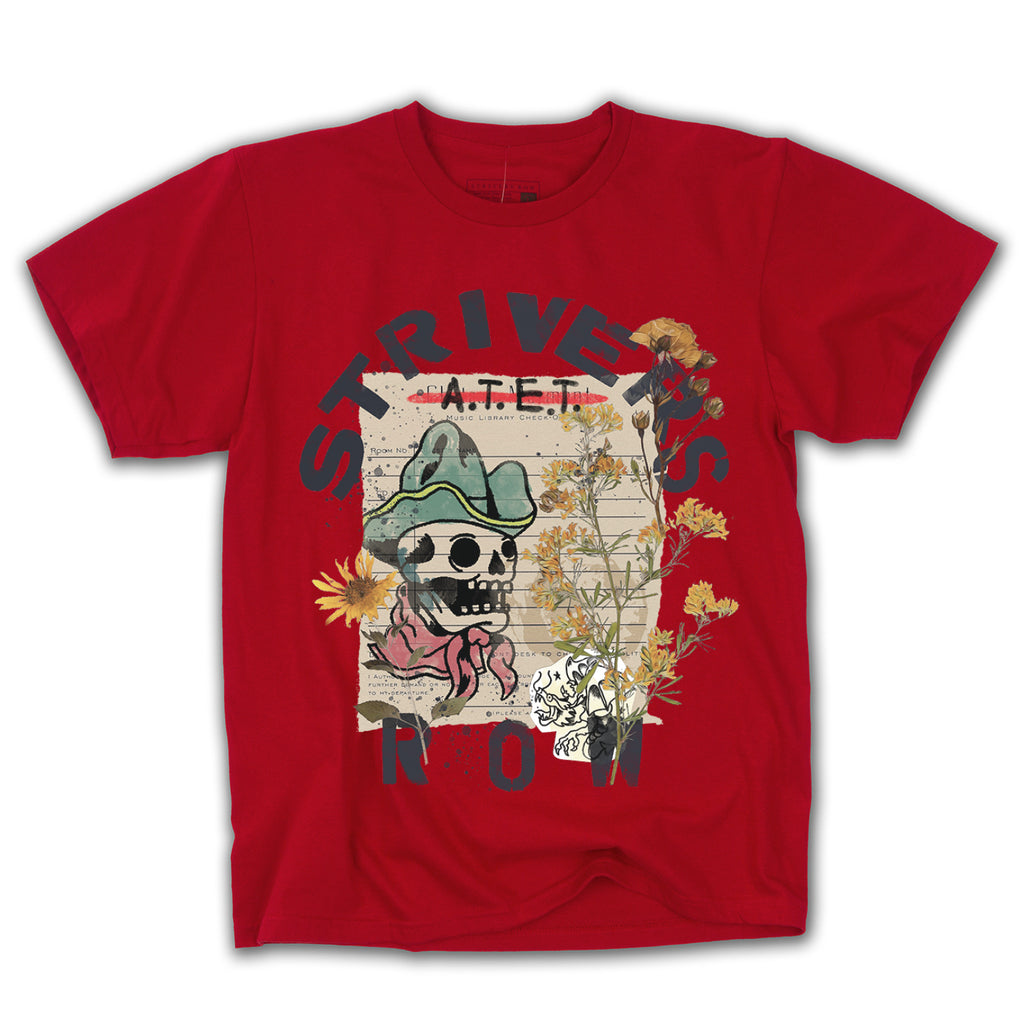 Collage SS Tee (Sport Scarlet Red)