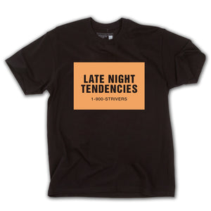 Late Night SS Tee (Black)