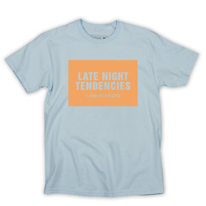 Late Night SS Tee (Chambray)