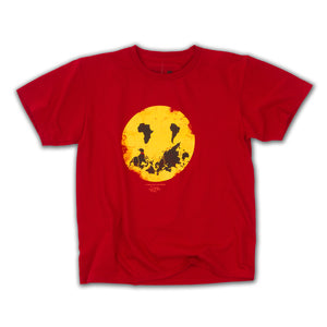 Happy Planet SS Tee (Sport Scarlet Red)