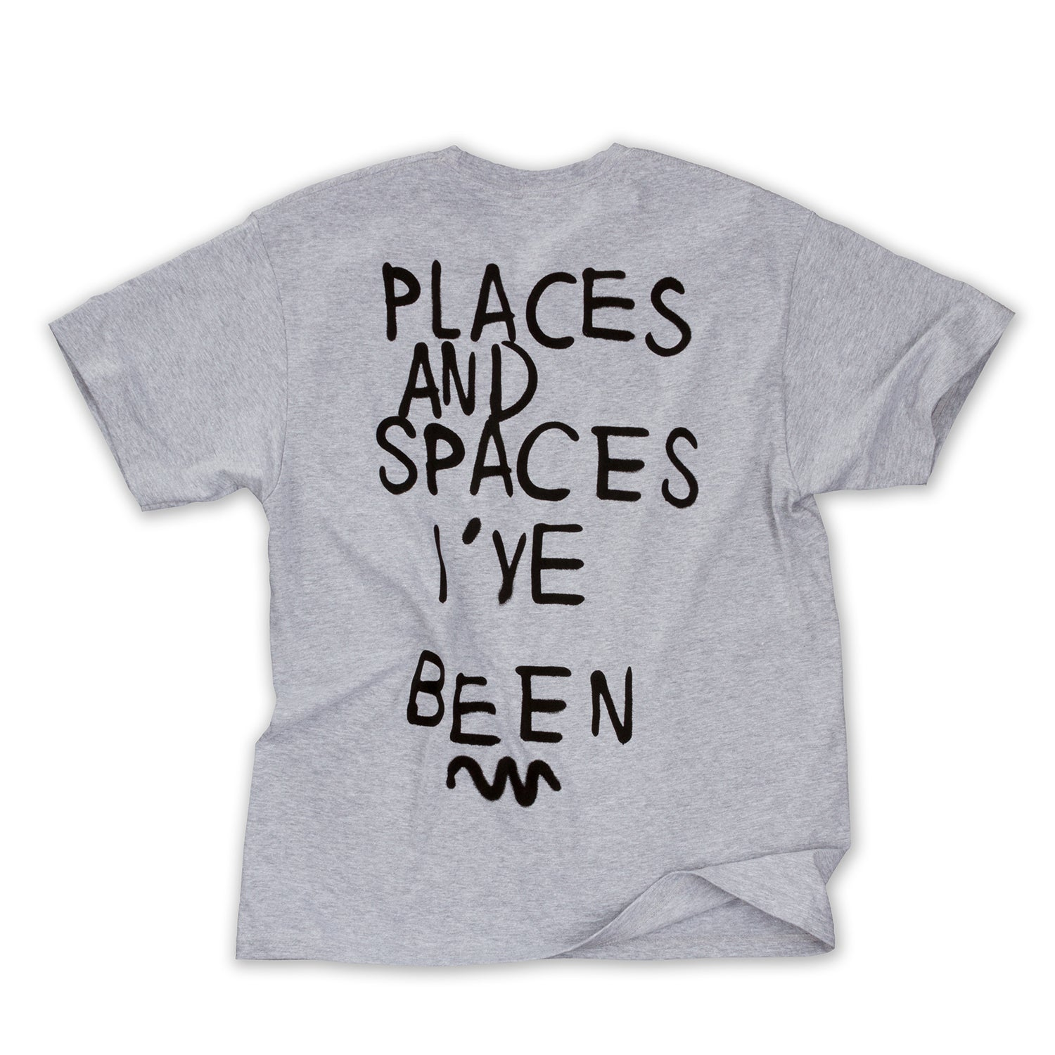 Places and Spaces SS Tee (Heather Grey)