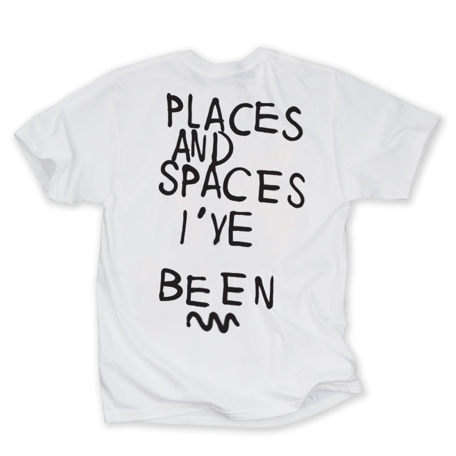 Places and Spaces SS Tee (White)