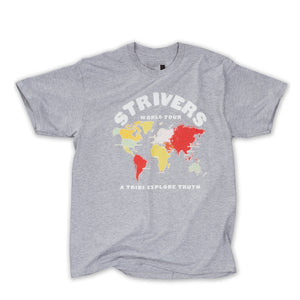 A World Tour SS Tee (Heather Grey)